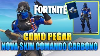 FORTNITE-HOW TO PICK UP NEW CARBON SKIN