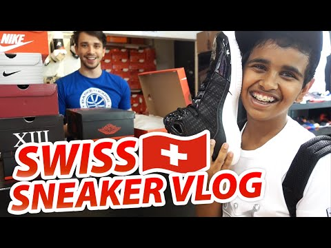 Sneaker Shopping in SWITZERLAND!!
