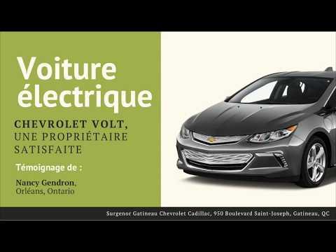 Témoignage de Nancy Bergeron - Vraiment satisfaite de sa Chevrolet Volt