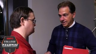 Alabama fan's memorable meeting with Nick Saban | College GameDay