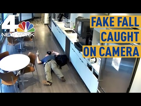 New Jersey Man Caught Faking Slip And Fall Inside His Office
