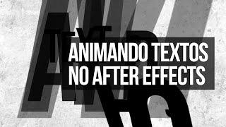 Animação de Textos no After Effects
