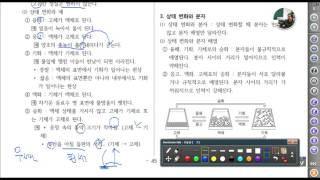 [ 중1 과학] 대전 동아샘  요점정리 해설   물질상…