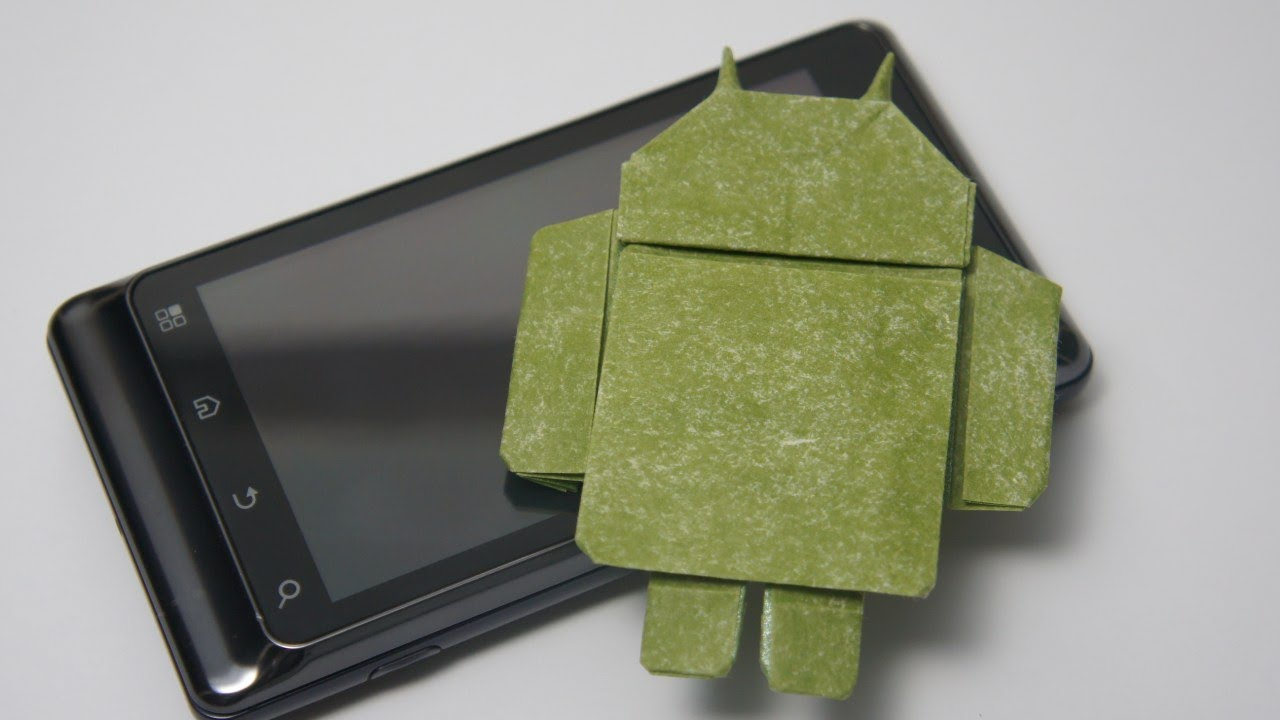 Origami Google Android Gerwin Sturm