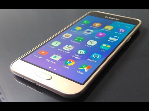 Samsung Galaxy J3 Gold 2016 Full Review and Unboxing