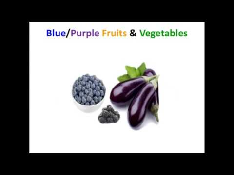 Health Benefits Of Eating Multi Colored Fruits Vegetables