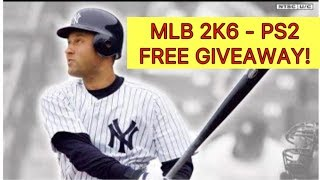 FREE GIVEAWAY! | MLB 2K6 - PS2 | With Kingdoms of Camelot Gameplay!