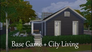 The Sims 4 Speed Build || Base Game + City Living House