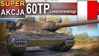 60TP - ale akcja! Polski wymiatacz w World of Tanks