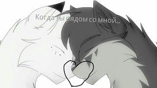 Коты Воители - Клип Когда ты рядом со мной...