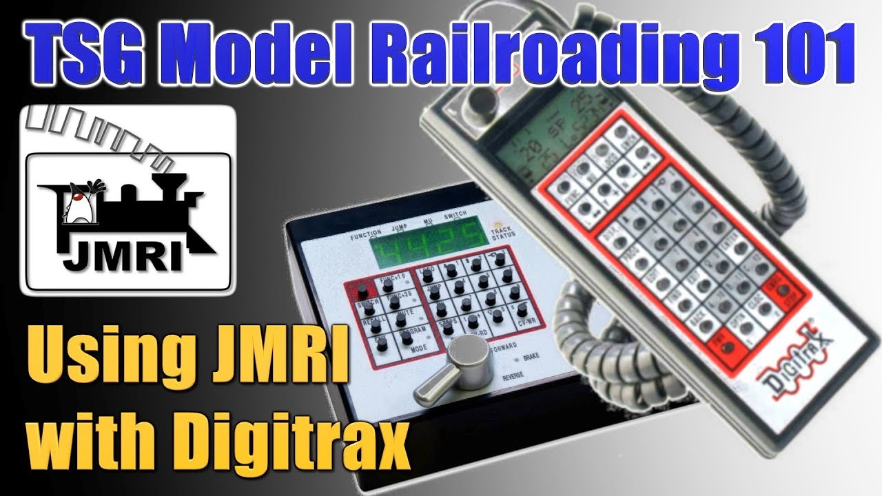 hight resolution of  trains jmri digitrax