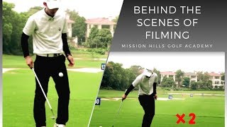 Behind The Scenes of MH Golf Tips Series