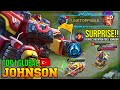 - PERFECT ROTATION TOP 1 JOHNSON COMBO SKILL - TOP 1 GLOBAL JOHNSON AOGbatuhan - MOBILE LEGENDS
