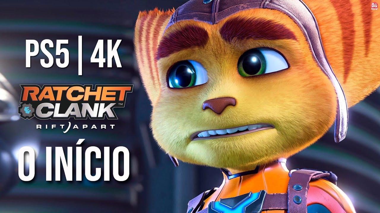 Ratchet & Clank : Rift Apart - O INÍCIO DE GAMEPLAY do Novo Exclusivo de PS5, em Português PTBR