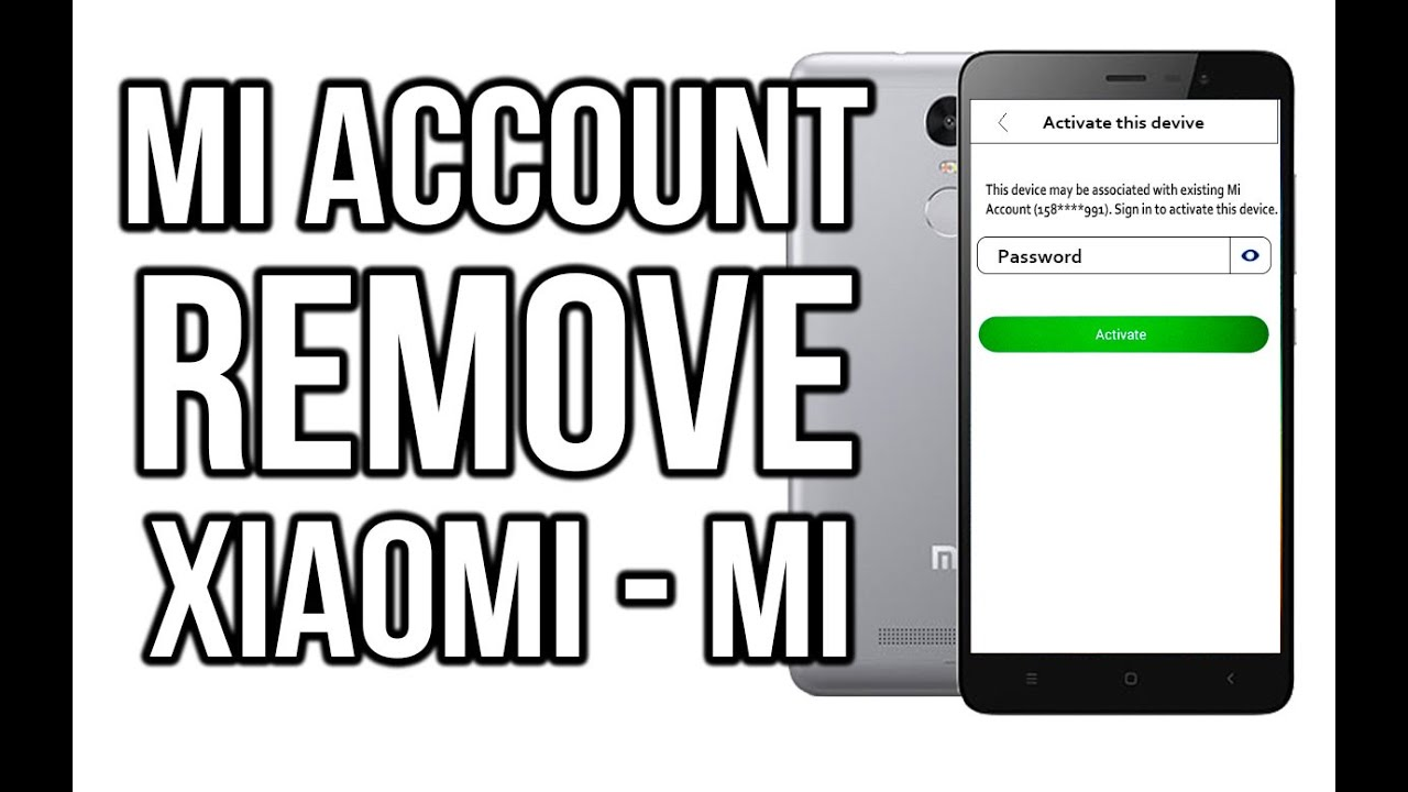 Unlock mi account this device may be associated with existing mi account wordpress youtube