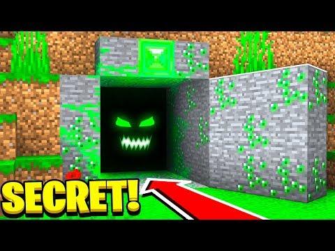 I Found Green Steve's Secret Minecraft Base