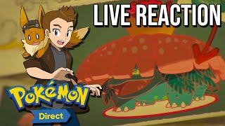 POKEMON DIRECT LIVE REACTION - NEW POKEMON SWORD & SHIELD CONTENT + NEW PMD GAME!