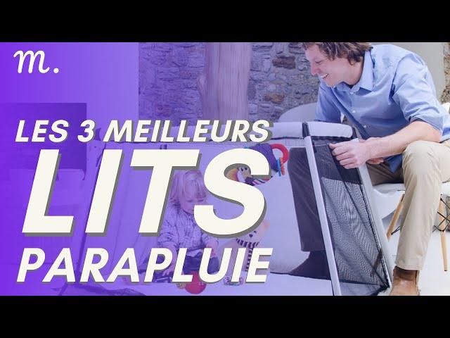 🥇TOP 3 LITS PARAPLUIE (2020)