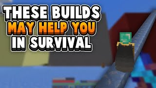 5 IMPORTANT Builds For Any Survival Minecraft World