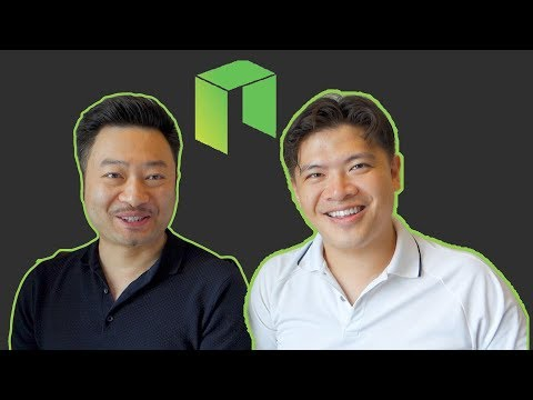 Neo (Antshares) with co-founder Da HongFei