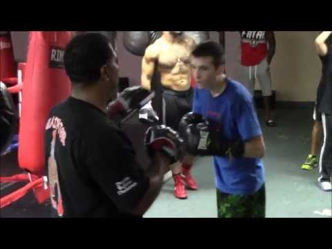 "Gladiators School of Martial Arts and Boxing - THAIR ""SUAVE"" RAMIREZ"