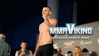 Niklas Bäckström vs. Noad Lahat UFC Berlin weigh in