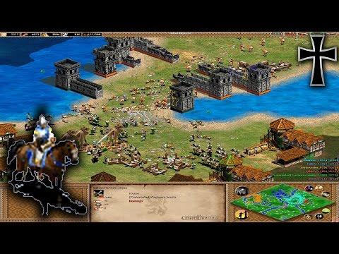 Age of Empires II - 139ª Partida Multijugador En Línea - Julia, Tulio y Fede