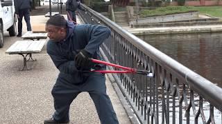 City cuts love locks off of scenic Norfolk bridge