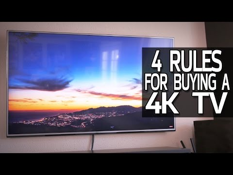 4 Rules For Buying a 4K TV! thumbnail