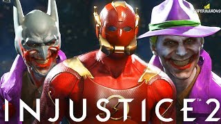 Injustice 2: The Flash, Joker & More Epic Gear Showcase For All Characters! (Injustice 2 Gear)