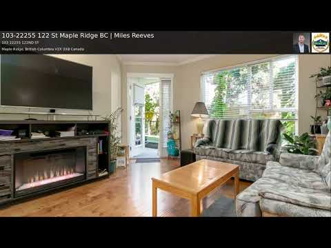 103-22255 122 St Maple Ridge BC | Miles Reeves