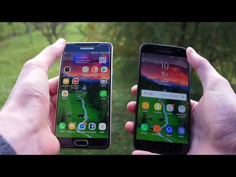 Porównanie Samsung Galaxy J5 2017 vs Galaxy A5 2016 / comparison