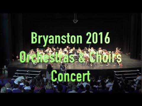 B16OR - 2016 Bryanston Fri 26 Aug Orchestras & Choirs Concert