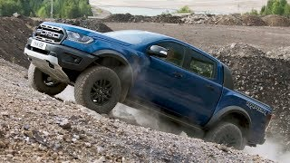 2019 Ford Ranger Raptor | Driving, Interior, Exterior | Lightning Blue