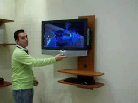Muebles para tv rack 2 youtube for Muebles para tv en madera