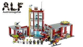 Lego City 60110 Fire Station - Lego Speed Build Review