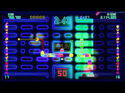 PAC-MAN Championship Edition DX - Highway (5 Minutes) - 2,240,820 (Almost World Record)