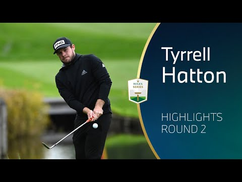 Tyrrell Hatton Round 2 Highlights 2020 BMW PGA Championship