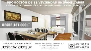 11 CHALETS AVENIDA CONSTITUCIÓN LA RODA (ALBACETE)
