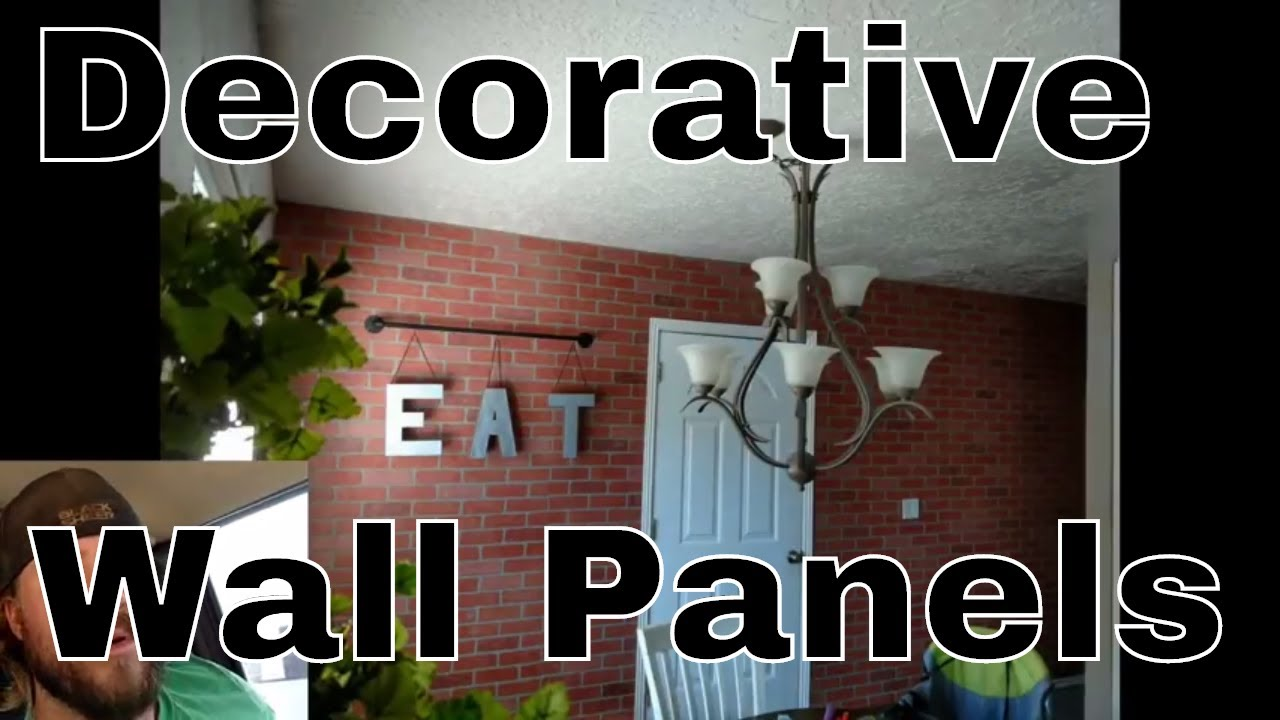 Accent Wall Ideas How To Install Decorative Wall Panels Youtube