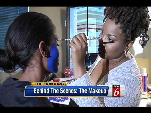 """Behind the Scenes: Disney's The Lion King Musical Part 3 """"The Make-Up"""""""