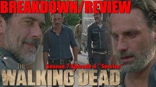 twd 7x04 service review recap breakdown the walking dead season 7 episode 4