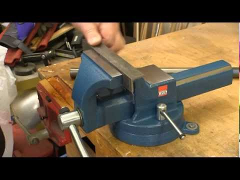 Bessey 174 Forged Steel Bench Vise Youtube