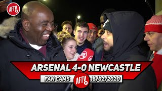Arsenal 4-0 Newcastle | Lacazette Was Buzzing Around Like A Bee When He Came On! (Troopz)