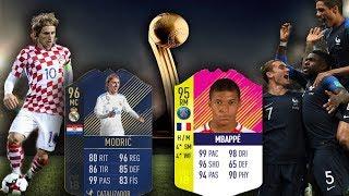 EL EQUIPO DE LA FINAL - RUSSIA 2018 - FIFA 18