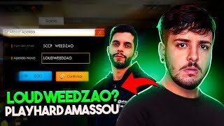 LOUD WEEDZAO?? PLAYHARD AMASSOU SEM MUNIÇÃO! FT THURZIN FREE FIRE