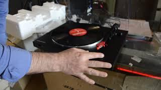 audio Technica AT-LP3 Tam Otomatik Stereo Pikap - Kurulum