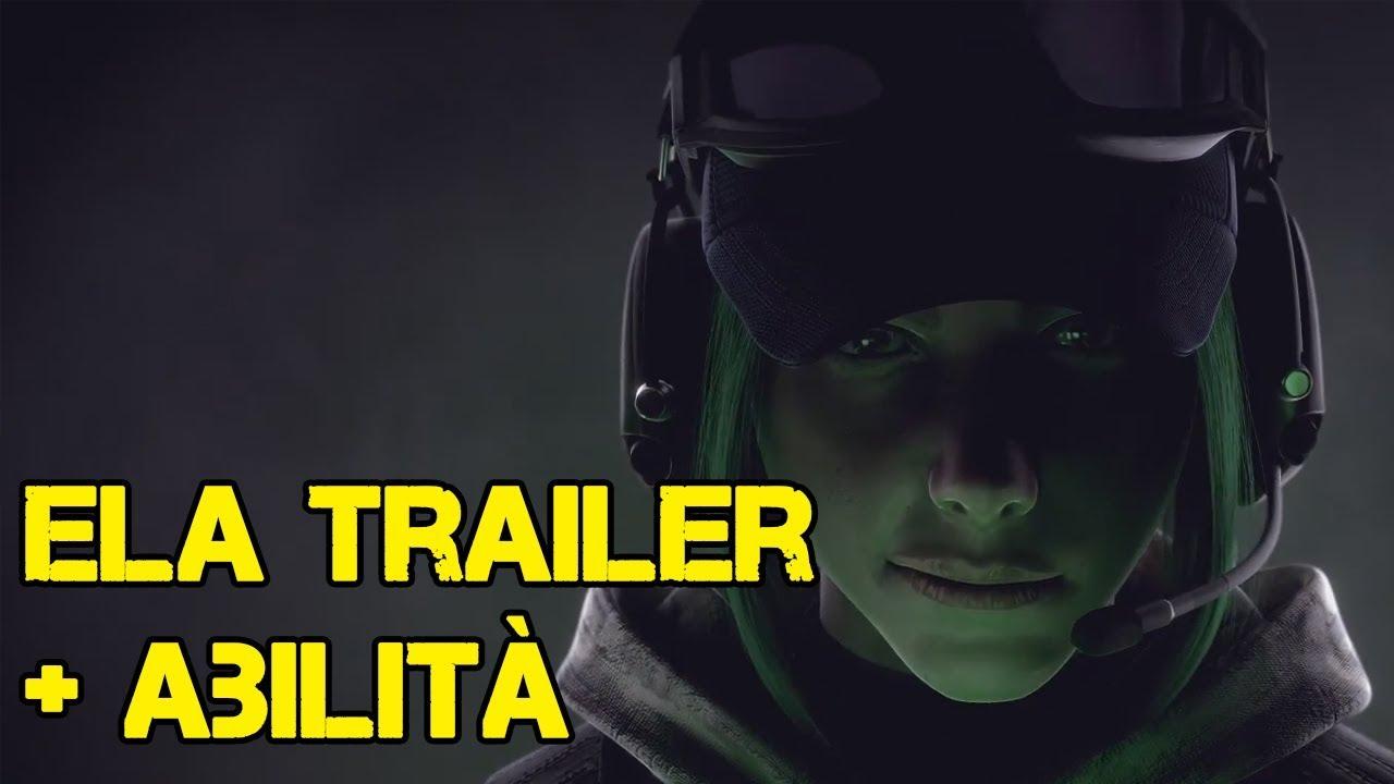 Ela bosak trailer ufficiale abilita 39 in dettaglio - Rainbow six siege bosak ...