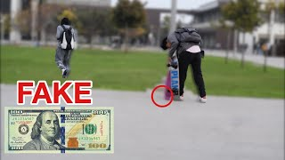 DROPPING MONEY IN THE HOOD! Social Experiment
