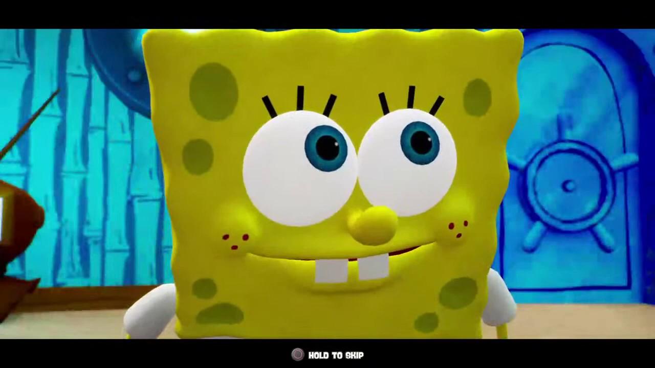 hints battle bottom bikini squarepants Spongebob for